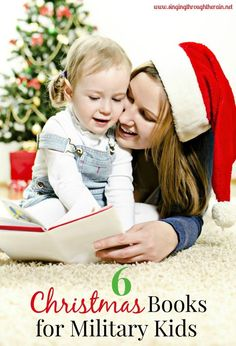 6 Christmas Books for Military Kids - Make this Christmas season even more memorable with these several Christmas books that are perfect for reading to your military child! Military Marriage, Military Deployment, Military Girlfriend, Military Love, Military Families, Kids Singing, Singing Tips, Navy Wife, Christmas Books