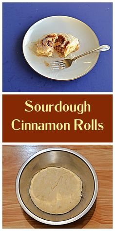 Grab your sourdough discard and make a batch of Sourdough Cinnamon Rolls. #sourdough #breakfast #cinnamonrolls   Cinnamon Roll Recipes   Breakfast Recipes   Sourdough Recipes   Dessert Recipes Sourdough Cinnamon Rolls, Sourdough Recipes, Yummy Food, Good Food, Tasty, Delicious Recipes, What Is Baking, Breakfast Recipes, Dessert Recipes