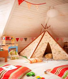 A fun space for the kids to go and play and just have fun!