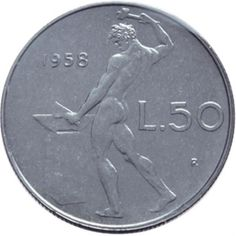 La lira in moneta Rare British Coins, Childhood Memories 90s, Non Plus Ultra, Euro Coins, Coin Ring, Silver Coins, Nostalgia, Vintage, Airplane Mode