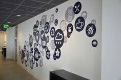 Resultado de imagem para creative wall office