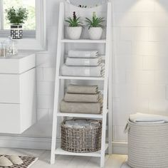 Bathroom - Organization and Storage - Ideas and Inspirations 6 Organis .- Salle de bain – Organisation et Rangement – Idées et inspirations 6 Organis… Bathroom – Organization and Storage – Ideas … - Simple Bathroom, Bathroom Sets, Diy Bathroom Ideas, Small Spa Bathroom, Budget Bathroom, Bathroom Vanities, Decorative Storage, Linen Storage, Bathroom Organization