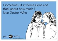 Or carry on out-loud conversations with yourself on your favorite episodes. That would be me.