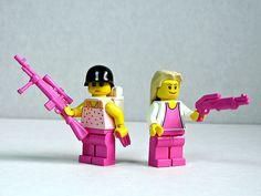 The Pink LEGO Mafia (via Dunechaser)