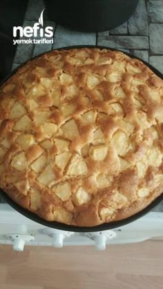 Apple Cinnamon Cake – NeseBirol – N Yummy Recipes, Cake Recipes, Yummy Food, Apple Cinnamon Cake, Cinnamon Apples, Apple Cake, Holiday Pies, Biscuits, Spice Cupcakes