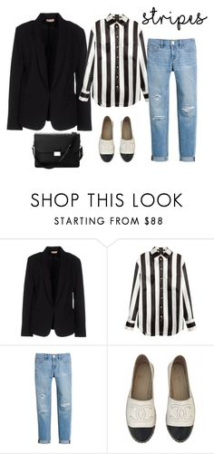 """untitled 48"" by deboraaguirregoncalves on Polyvore featuring moda, Maesta, Balmain, White House Black Market, Chanel e Aspinal of London"