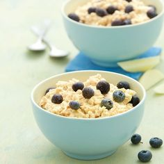 Weight Watcher, Eat Smart, Overnight Oats, Smoothie Bowl, Oatmeal, Food And Drink, Pudding, Breakfast, Kitchens