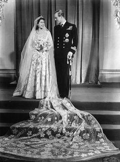 Princess Elizabeth married Philip on the 20 November 1947