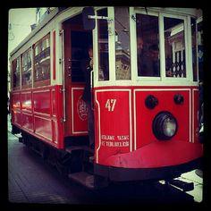 Istanbul tram by bards.portfolio, via Flickr