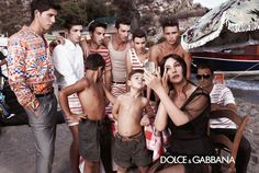 Dolce & Gabbana 2013 Spring Summer Menswear Ad Campaign