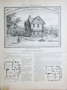 Modern houses : beautiful homes. Vintage Architecture, Architecture Plan, Modern Houses, Old Houses, Beautiful Buildings, Beautiful Homes, 1940s Home, Architectural House Plans, The Borrowers