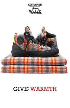 Tartan Wool Converse Chuck Taylor High Tops