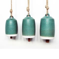 Ceramic Bells, Vals green, Michele Quan