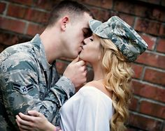 2 year wedding anniversary pic ideas :) Airforce