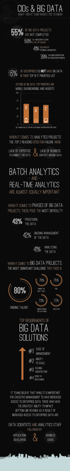What IT Teams Want CIOs to Know About Big Data