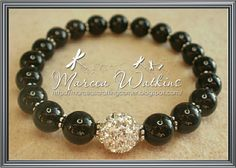 *Marcea's crafting corner*: Classic black and silver