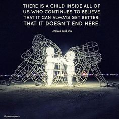 "@powerofspeech  Art by Alexander Milov. Photographed at Burning Man. ""I spoke about this image at the Relationships 101 Event in Vancouver a few months ago and am always so deeply impacted when I see the image again and think of its meaning.  There is a child inside all of us. A child who continues to reach out towards hope and healing. The child part of us that believes that security and safety is out there even when we haven't always experienced it. This is a reminder that no matter how…"