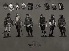 ArtStation - The Witcher 3 concept art, Jan Marek Fantasy Rpg, Medieval Fantasy, Dark Fantasy, Fantasy Character Design, Character Concept, Character Art, Witcher Art, The Witcher 3, Armor Concept