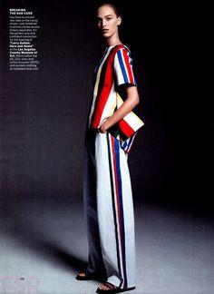 Vanessa Axente por Karim Sadli para Vogue US Novembro 2014 [Editorial]