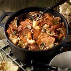 Sausage & Vegetable Skillet