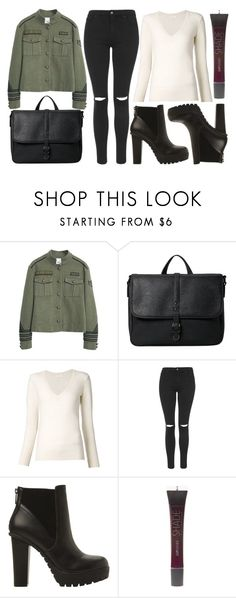 """street style"" by sisaez ❤ liked on Polyvore featuring MANGO, Chloé, Topshop, Steve Madden and SHADE Collection"