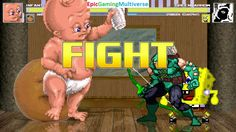 Annoying Orange & Infant Mutant Naughty Baby VS Green Arrow & SpongeBob SquarePants In A MUGEN Match This video showcases Gameplay of SpongeBob SquarePants And Green Arrow The Superhero VS Infant Mutant Naughty Baby And The Annoying Orange In A MUGEN Match / Battle / Fight