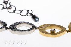 Oryginalna bransoleta ze srebra złoconego