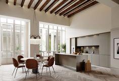 Un Apartamento Nórdico e Histórico en el Centro de Palma | Ideas Arquitectos