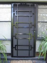 Image result for modern steel security door Steel Security Doors, Security Gates, Security Screen, Metal Screen Doors, Iron Doors, Gate Design, Door Design, Metal Garden Gates, Vault Doors