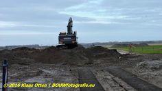 """Aanleg Noorderhaaks """"gedeeltelijk ringweg van Julianadorp, Den Helder!""""  www.facebook.com/bouwbedrijfweblog #Noorderhaaks #BAM #Julianadorp #DenHelder"""