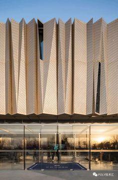 Cultural Architecture, Education Architecture, Architecture Visualization, Minimalist Architecture, Commercial Architecture, Facade Architecture, Amazing Architecture, Building Facade, Building Design