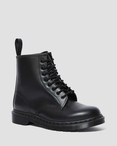 Dr Martens 1460, Dr. Martens, Dna, Boys School Shoes, Dr Martens Store, Light Blue Sweater, Leather Lace Up Boots, Monochrome, Goodyear Welt