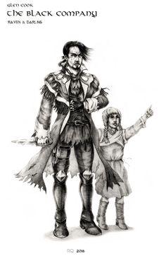 book character - Raven & Darling