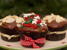 Aprenda a fazer o Cupcake Chocotone para o Natal
