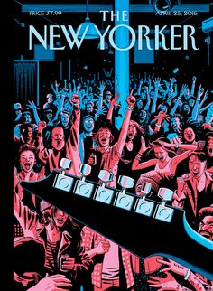 The New Yorker, April 25, 2016 - Johnson takes inspiration from an underground…