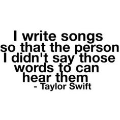 No hate to Taylor Swift but this would explain the break up songs
