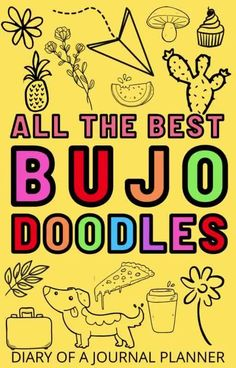 The ultimate list of the best doodle tutorials you next to test out in your next bullet journal spread! #bulletjournaldoodles #doodles #howtodraw Easy Doodles Drawings, Cool Doodles, Easy Doodle Art, Doodle Ideas, Simple Doodles, Doodles Zentangles, Doodle For Beginners, Doodle Diary, Bujo Doodles
