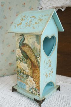 Wooden tea bags holder Memories tea house box wooden tea box