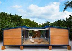Unas casas de madera prefabricadas modernas en noruega - Casa prefabricada navarra ...