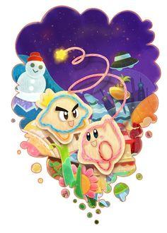 Nintendo 008 (Kirby's Epic Yarn by Anokazue)