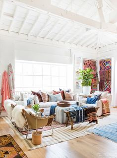 'Tis the season for festivals. Even if you don't have any intention of attending, the summer festival lineup – Coachella, Bonnaroo, Glastonbury, Lollapalooza, Austin City Limits, the list goes on – can offer you plenty of creative inspiration, both for your wardrobe and for your rooms.