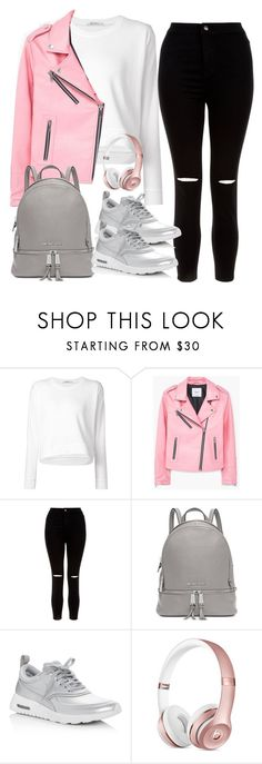 """Untitled #2401"" by thisishowwedress on Polyvore featuring T By Alexander Wang, MANGO, New Look, Michael Kors and NIKE"