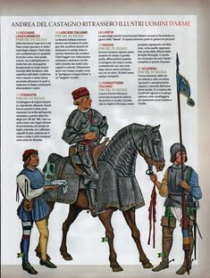 Soldiers of the Italian Wars Late 15th-Early 16th Century