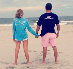 walking-jcrew-catalogue:  massachusettsprep:  kmaclax:  carry-on—sail-away:  gone—coastal:  A couple that wears Vineyard Vines together stay...