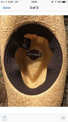 570743ba3384b Harley Davidson Straw Hat  fashion  clothing  shoes  accessories   mensaccessories  hats