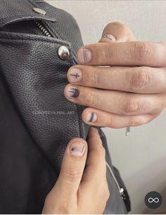 Nail Manicure, Nail Polish, Pretty Gel Nails, Mens Nails, Magic Nails, Brad Nails, Minimalist Nails, Dope Nails, Hair And Beard Styles