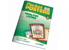 Our Healthy Living Pocket Poster are a colourful and engaging reference books that are ideal for classwork, homework and revision. Physical Education, Homework, Physics, Healthy Living, Posters, Pocket, Book, Physical Education Lessons, Healthy Life
