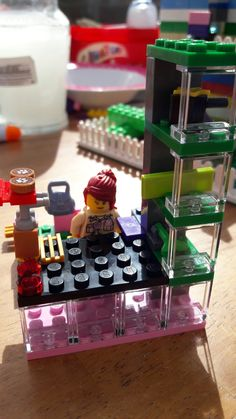 Lego cafe #6yroldlegogenius