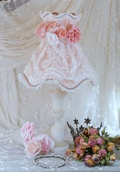 1000 images about pied de lampe et son abat jour shabby chic on pinterest lampshades shabby. Black Bedroom Furniture Sets. Home Design Ideas