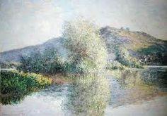 The Islets at Port-Villez by Monet